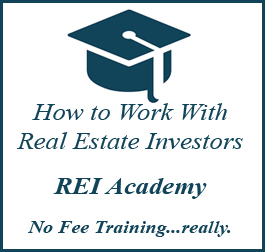 teaching real estate agents about real estate investing